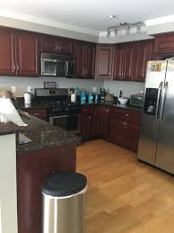 Kitchen Color Ideas With Cherry Cabinets Should I Paint My Cherry Cabinets White