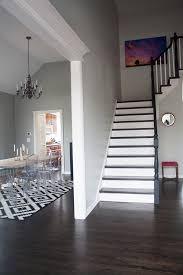 Stairwell Foyer Door Into Dining Room