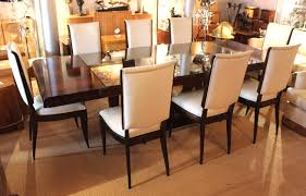 Art Deco Style Dining Table And Chairs Tables