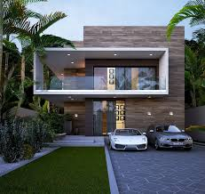 100 Cheap Modern House Square Facade Modern House Impression Curb Appeal Haus