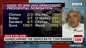 Oddsmaker Jimmy Vaccaro on 2016 Presidential Candidates CNN Video