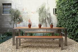 Elegant Glencoe Indoor Outdoor Dining Table