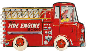 100 Big Red Fire Truck Engine Book By Moveable Brody Virginia Auth McGraw