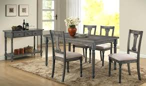 Gray Dining Set Weathered Grey Blue Washed 5 Piece Table For Ideas Wash