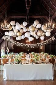 idées de décoration de table à suspendre
