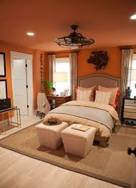 Brown And Orange Bedroom Ideas Amazing On Intended For Contemporary 25