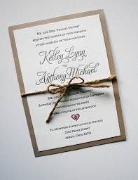 Elegant Rustic Wedding Invitations Hand Painted Heart With Watercolor Paint