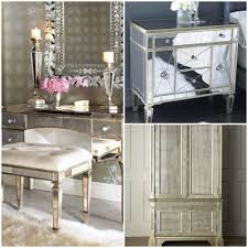 Hayworth Mirrored 3 Drawer Dresser by Splendid Hayworth Mirrored Dresser 126 Hayworth Mirrored Bedside