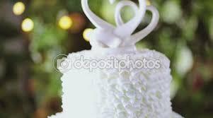 Wedding Cake Close Up Stock Video