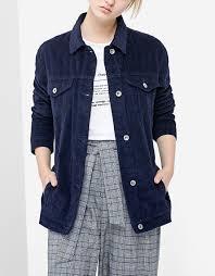 corduroy jacket just in stradivarius united kingdom