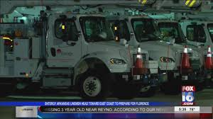 Entergy Arkansas Crews Head To East Coast