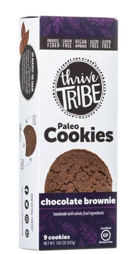 Thrive Tribe Paleo Cookies Gluten Free Chocolate Brownie - 7.65 oz