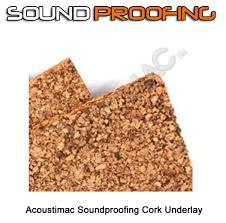 acoustimac soundproofing cork underlay 4 x100 roll