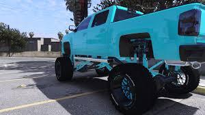 100 Lifted Chevy Truck Silverado ADDONBETA GTA5Modscom