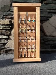 Quality Displays Are Provided With The Jewelry Wooden Earring Display Rack Made Of Oak Pictured Is One Most Stores Select