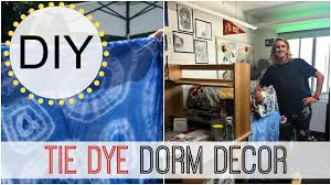 Dorm Room Bed Skirts by Back To Dorm Room Diy Tie Dye Bed Skirt Michele Baratta