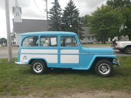 100 Restored Trucks 1955 Willys Station Wagon AllSteel Truck Wagon For Sale