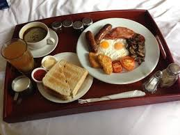 Breakfast in bed Picture of The Harrison Gastro Pub and Hotel