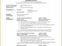 Federal Resume Examples 2015 Here Are Sample And Format The Jobs He