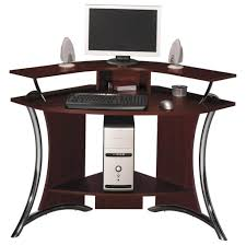 Tempered Glass Computer Desk by Furniture Fabulous Small Computer Desk Made Of Tempered Glass And