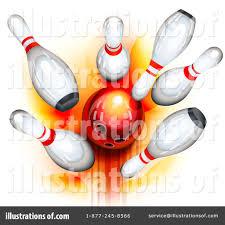 Bowling Clipart Illustration by Oligo