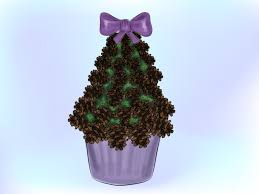 Pine Cone Christmas Tree Decorations by How To Make A Mini Pinecone Christmas Tree 14 Steps