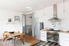 photo cuisine avec carrelage metro cuisine avec carrelage metro 1 r233novation d233coration maison