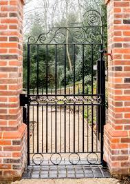 Metal And Wood Garden Gate Hayes Craft Gates Railings loversiq