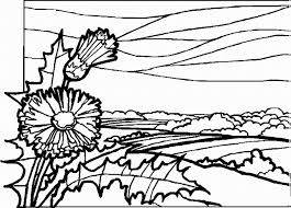 New Landscape Coloring Pages 83 In Gallery Ideas With