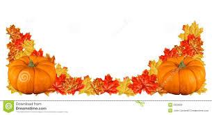 Fall Pumpkin Border Clipart 1