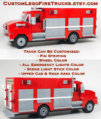 100 Freightliner Fire Trucks Custom Lego Customizable Rescue Etsy
