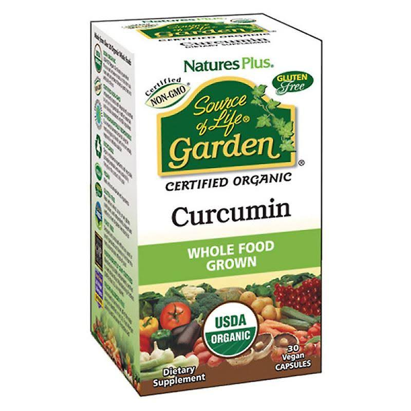 Source of Life Garden Curcumin Supplement - 30 Vegan Capsules