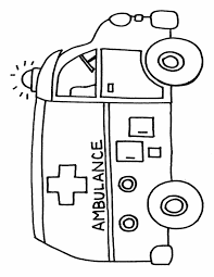 Coloring Page Transportation Icons Img