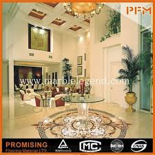 Luxury Building Material Marble Inlay Italian Flooring DesignNice White Design