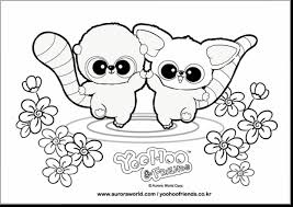 Yoohoo And Friends Coloring Pages