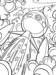 Krypto The Dog Go Into Outer Space Coloring Pages