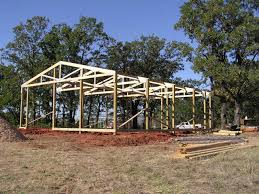 building a 24x24 pole barn for tractor