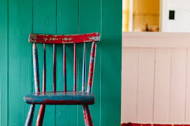 Painted Chair In A Room Painting Lighting