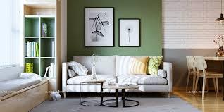 moderne wohnzimmer farben trendge einrichtungsideen in