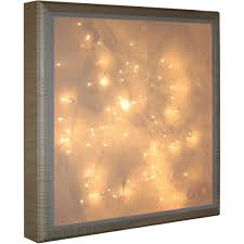 crafted wall l nightlight light box in tiger maple by