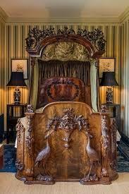 antikes schlafzimmer möbel betten der heron
