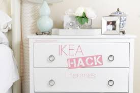 Hemnes Dresser Instructions 3 Drawer by Ikea Hack Hemnes Little House Of Chic