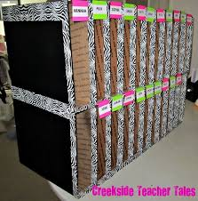 Turn Them Into Mailboxes For Your Students