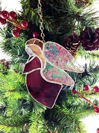 Angels Christmas Stained Glass Angel Best Selling Item