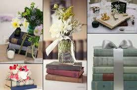Recycling Ideas Vintage Wedding Table Decoration Decorating Books Einweckglaser