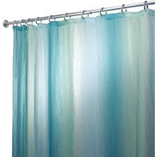 Heritage Blue Curtains Walmart by Interdesign Ombre Print Shower Curtain Walmart This Would Go