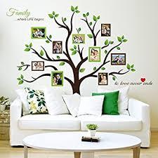 amazon com large family tree wall decal peel stick vinyl sheet