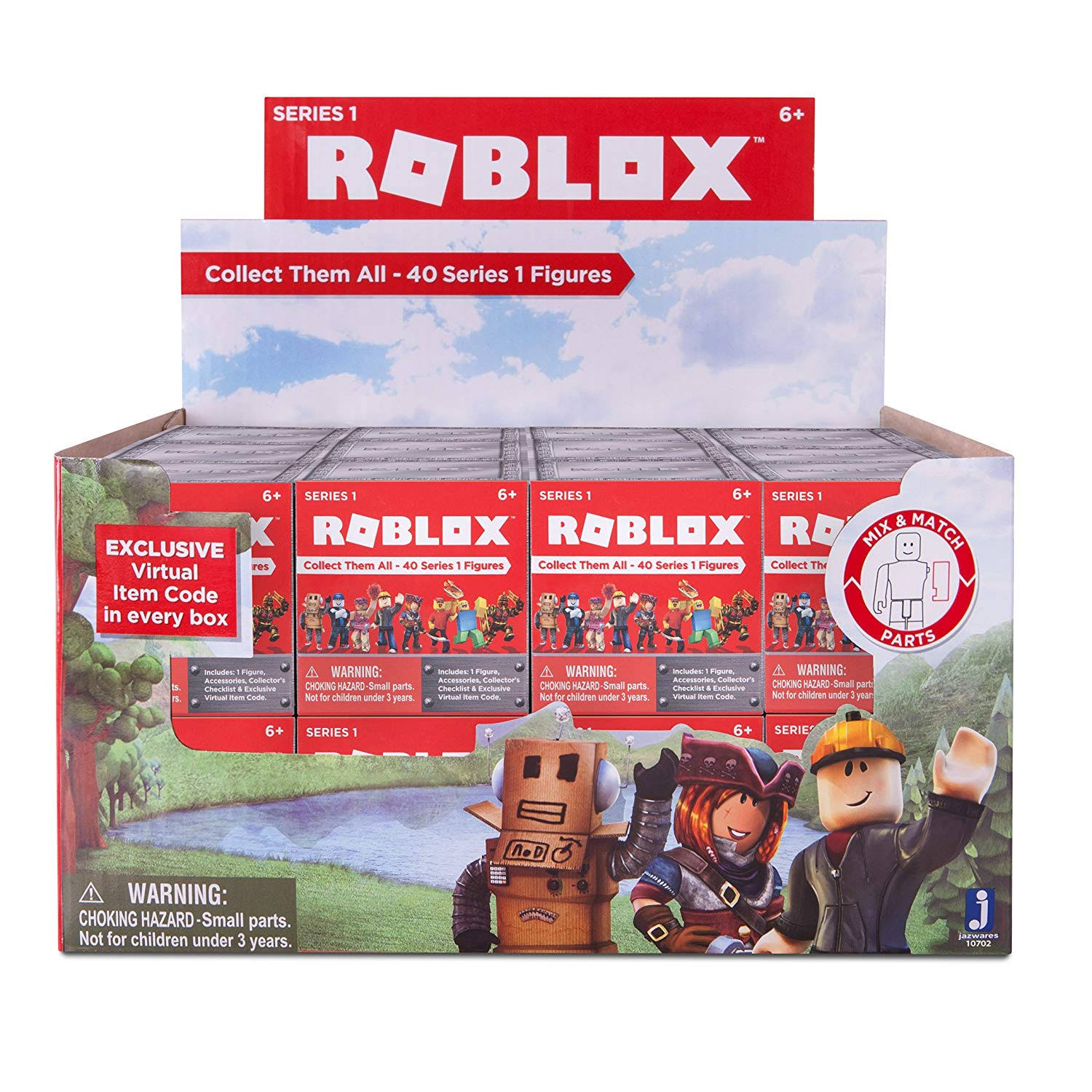 Roblox Series 1 Action Figure Mystery Box