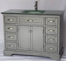 46 Inch Bathroom Vanity Without Top by 46 Bathroom Vanity Regarding Your Property Cabinets Inch Cottage
