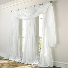 Gold And White Sheer Curtains by Sheer Curtain Panels Sheer Batiste Drapes Altmeyer U0027s Bedbathhome